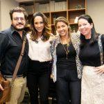 Andre Caterina, Katy Satto, Bianca da Hora e Jacira Pinheiro