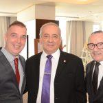 Bayard Boiteux, Cônsul do Paraguai Hernando Melgarejo e George Irmes