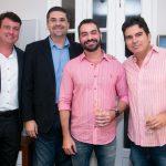 Bruno Gelais, Fabricio Pinto, Sergio Teixeira e Ronaldo Francalacci
