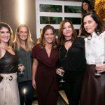 Carla Cruz, Luiza Bottino Raffaela Lemgruber, Rosa Tavares e Ana Luisa Wolff