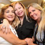 Claudia Simões, Kristhel Byancco e Marcia Verissimo