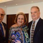 Claudio e Cristina Aboim e Rawlson de Thuim