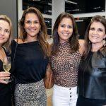 Cris Arnaud, Daniela e Bebel Salignac e Marcia Rodrigues