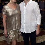 O casal Claudia Wildberger e Yuri Ribeiro