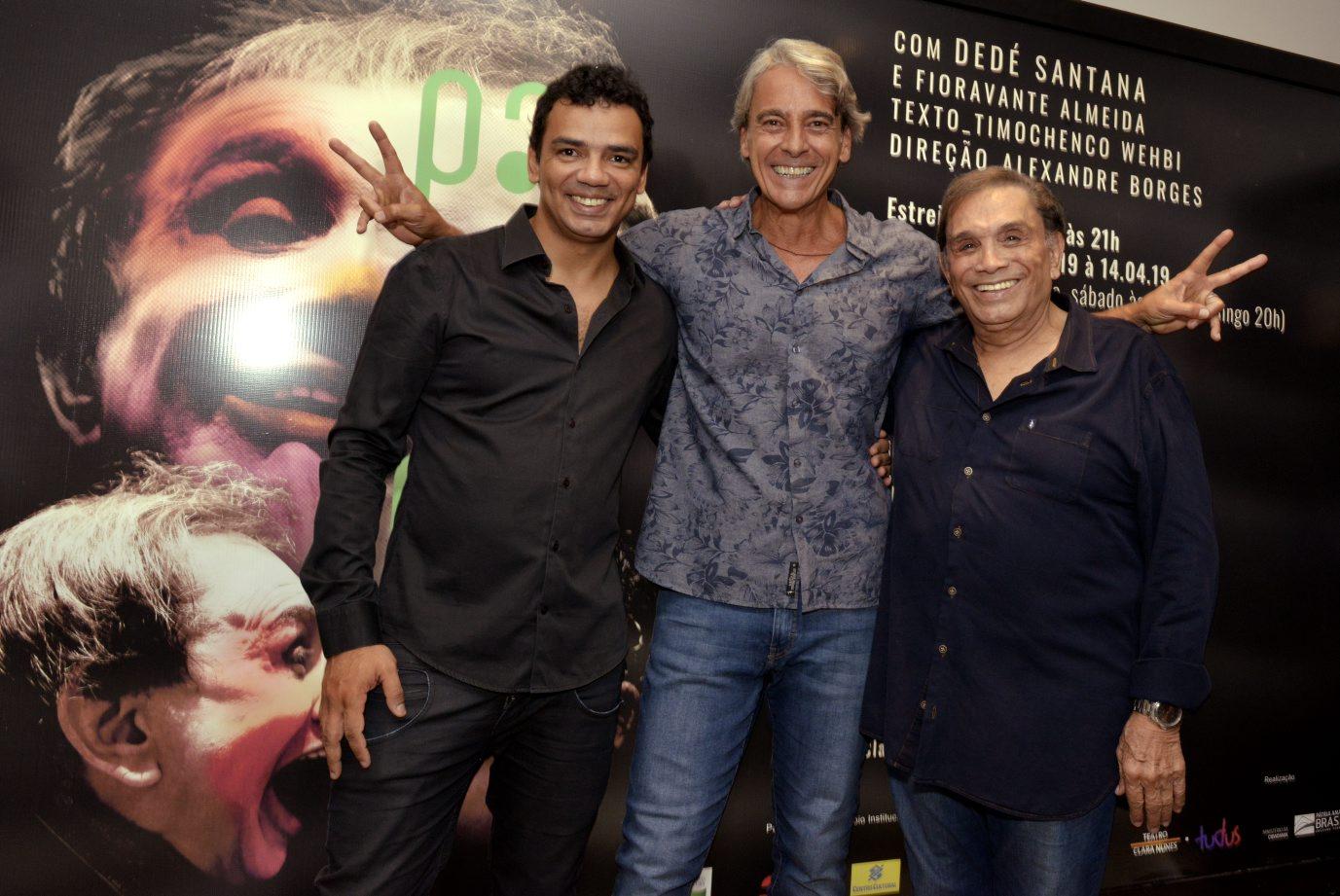 """""""Palhaços"""" estreia no Teatro Clara Nunes"""