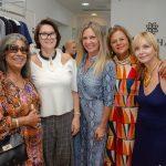 Irce Brito, Eleonora Erthal, Márcia Veríssimo, Fofy Luz e Déborah Gonçalves