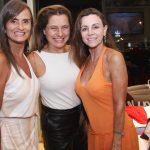 Márcia Eschiverio, Ana Cristina Carvalho e Tuta Hermes