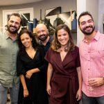 Marcelo Dadoorian, Ana Abreu, Claudio Bittencourt, Raffaela Lemgruber e Sergio Teixeira