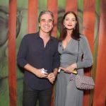Marcelo Laham e Alexandra Richter