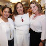 Maria Claudia, Claudia Simões e Tatiana Datz