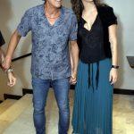 O casal Alexandre Borges e Tatiana Coelho
