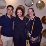 Roberto Rodrigues, Cristina Alho e Adriana Rodrigues