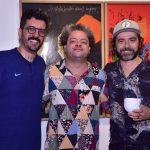 Bruno Miguel, Marcelo Solá e Alexandre Mazza
