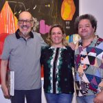 Paulo Herkenhoff, Luciana Caravello e Marcelo Solá