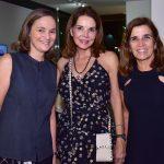 Claudia Moreira Salles, Patrícia Mayer e Andréa Chicharo