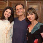 Renata Müller, João Pellegrino e Karen Alves