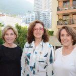 Tança Burity, Márcia Duvivier e Sonia Nasser