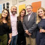 Tatiane Perrotta, Quemuel Dantas, Fabiane Borges, Fabio Camurri e Ana Paula Passarelli