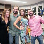 Teka Mesquita, Marcelo Dadoorian, Simone Leal e Sergio Teixeira