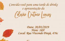 Claudia Simões lança Coleção Outono Leaves