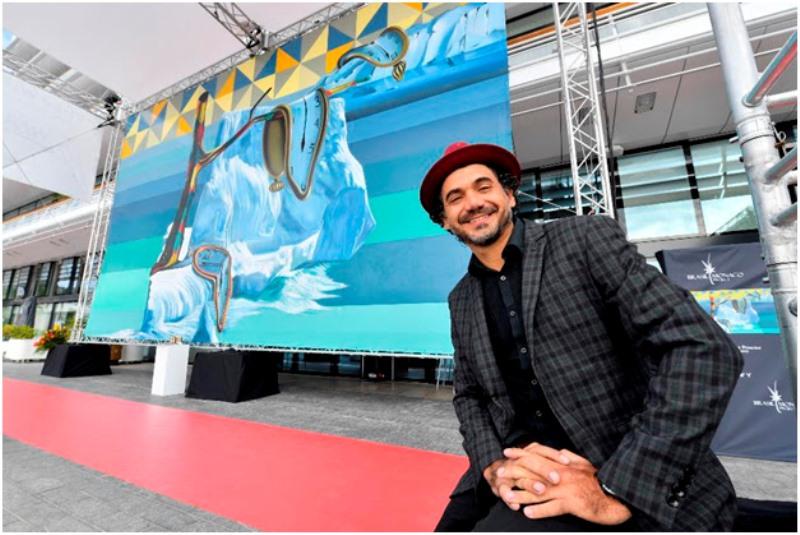 Mural de Eduardo Kobra é inaugurado em Mônaco
