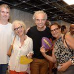 André Sheik, Simone Michelim, Fernando Mariz e Suely Farhi