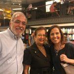 Antonio Albuquerque, Francisca Talarico e Denize Goulart