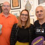 Augusto Herkenhoff, Denise e Marcio Atherino