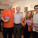 Augusto Herkenhoff, José Carlos Santanna, Ana de Paula e Renato Santanna