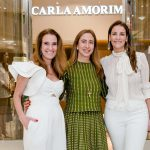 Bebel Schmidt, Carla Amorim e Laura Paes