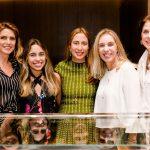 Bia Braga, Rafaella Benjamin, Carla Amorim, Isabela Benjamin e Ana Lucia Rocha