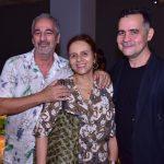 Chico Cunha, Beatriz Milhazes e Alberto Saraiva