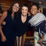 Clarisse Derzié Luz, Leila Pinheiro e Nina
