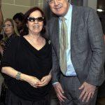 Glaucia Camargos e Pedro Bial