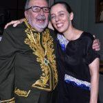 Cacá Diégues e sua filha Isabel Diégues