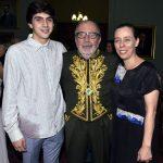 José Diégues Bial , Cacá Diégues e sua filha Isabel Diégues