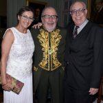 Denise Del Cueto , Cacá Diégues e Jayme Del Cueto