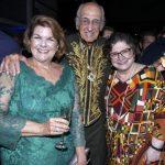 Anna Ramalho, Zuenir Ventura e Cora Ronai
