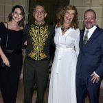 Evelise Ferreira, Marcos Lucchesi e Léo Monteiro de Barros