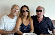 Patricia Secco oferece almoço a Washington Olivetto e Luiz Carlos Lacerda