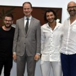 Ulisses Carrilho, Luis Prados, Fábio Szwarcwald e Giacomo Pirazzoli