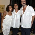 Alice Gelli, Mariana Arcoverde e Eurico Humano