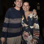 Eucanaã Ferraz e Michelle Coen