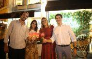 Tarde de inauguração e beleza em Ipanema