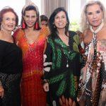 Eliana Moura, Narcisa Tamborindeguy, Maria José Prior e Mirian Desjardins
