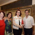 Heloísa Leite Barbosa, Lourdes Lira, Mylene Ourivio e Nelson Muniz