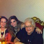 Beth e Carlos Alberto Serpa com a atriz Tamara Trindade