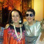 Beth Serpa com as amigas Marisa Monteiro, estilista , Yacy Nunes e Beth Senna Lafiti