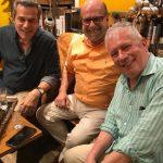 Jaime, Luiz Felipe e Chicô