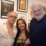 João Bosco, Ligia Teixeira e John Nicholson